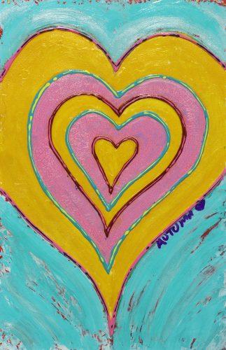 Target Heart Pastel Autumn de Forest Park West Gallery
