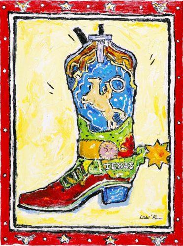 Leslie Lew Cowboy Boot 3-D Park West Gallery