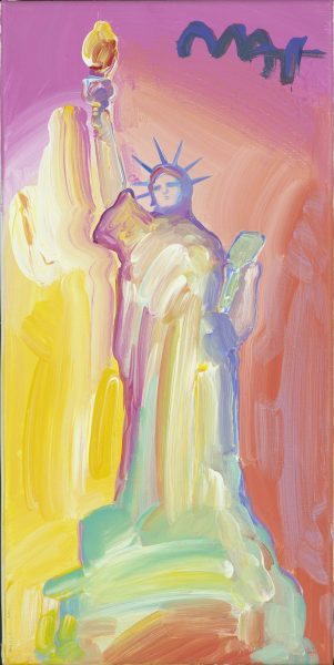 Statue of Liberty Peter Max Park West Gallery