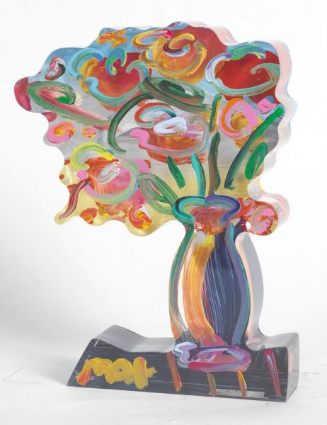 Vase of Flowers Peter Max Park West Gallery
