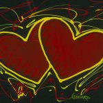 Michael Godard Hearts for Hope St Jude Park West Gallery
