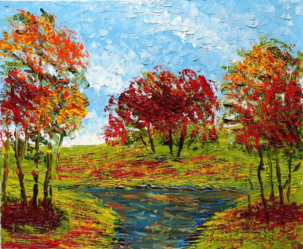 """Field and Stream Alexandre Renoir Park West Gallery"