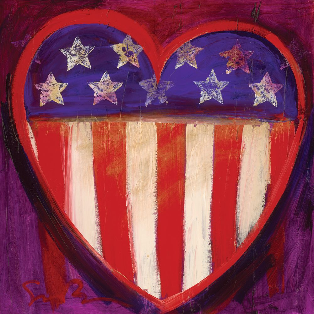 A Heart for America Simon Bull Park West Gallery