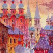 Old Monastery Near Moscow Anatole Krasnyansky Park West Gallery