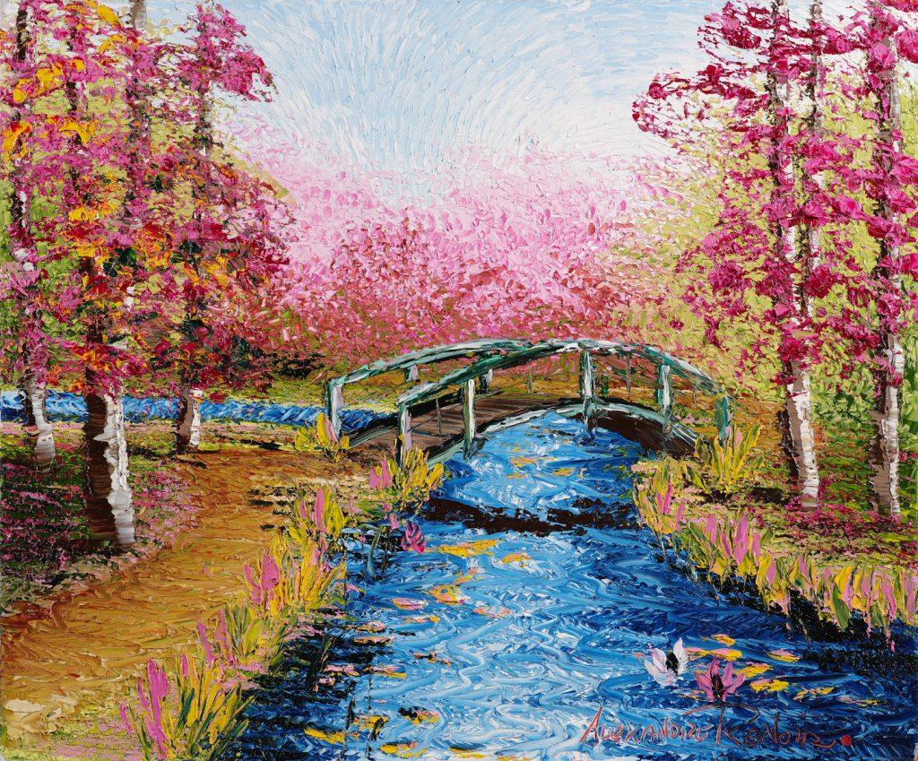 Alexandre Renoir Rose Bridge Park West Gallery