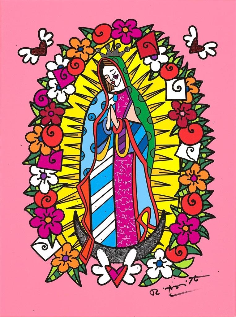 """""""Virgin"""" (2018), Romero Britto"""