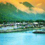 Skagway, Alaska harbor