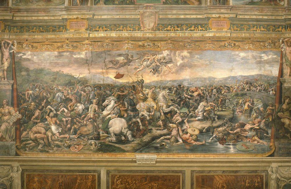 "art news ""The Battle of the Milvian Bridge"" Park West Gallery"