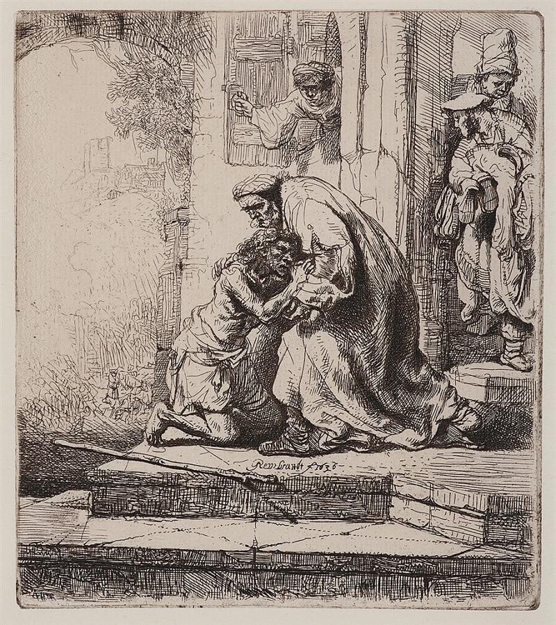 """Return of the Prodigal Son"" (1636), Rembrandt van Rijn"