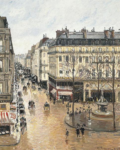 Camille_Pissarro_-_Rue_Saint-Honoré,_dans_l'après-midi._Effet_de_pluie