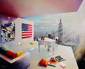 Manhattan View Orlando Quevedo Park West Gallery