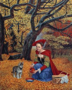 Michael Cheval Flippant Benevolence Park West Gallery
