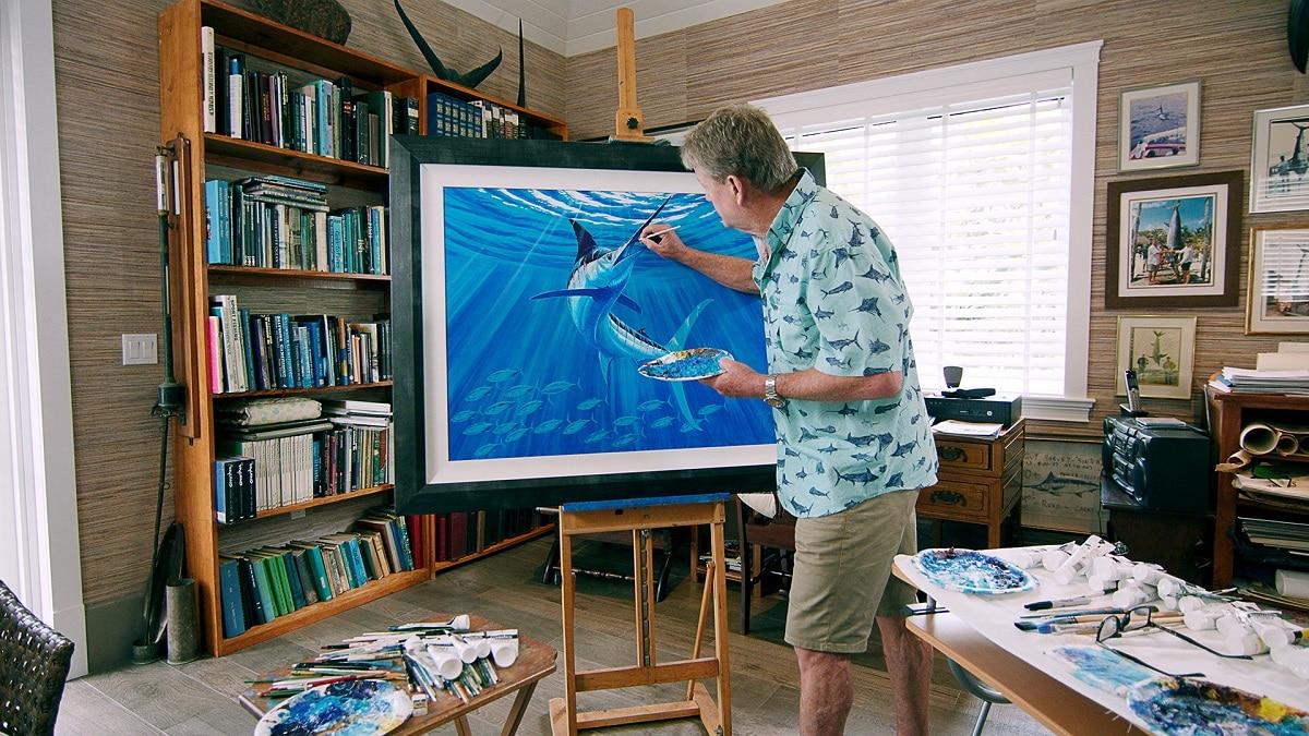Artist Guy Harvey