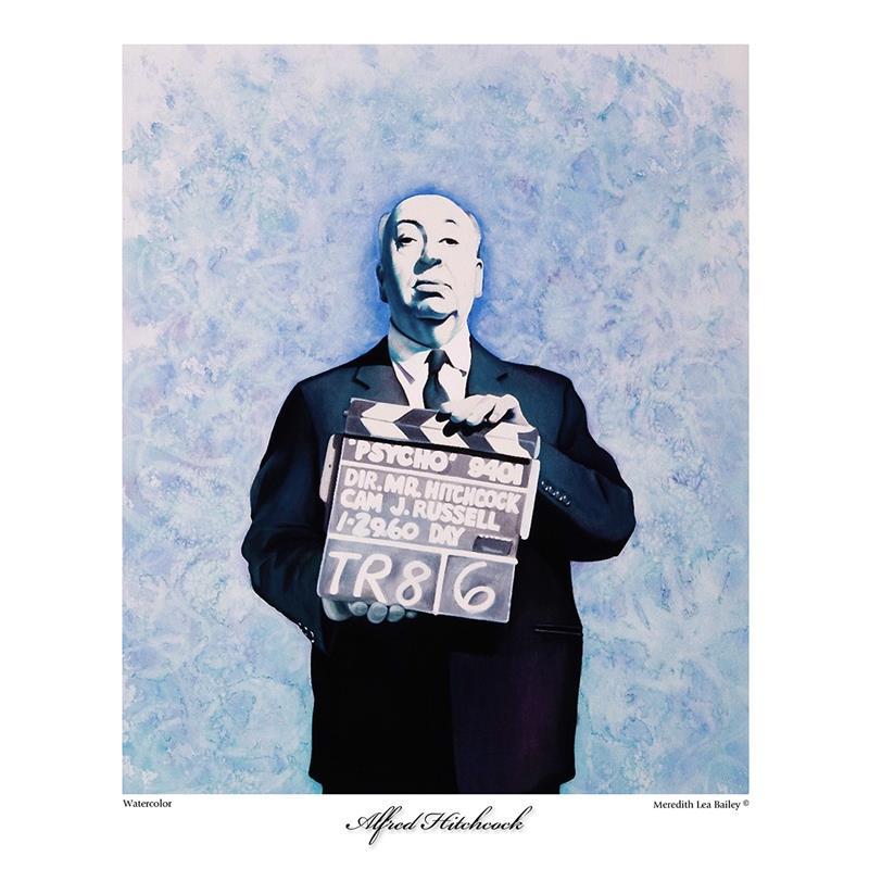 """Alfred Hitchcock"" (2017), Meredith Lea Bailey"