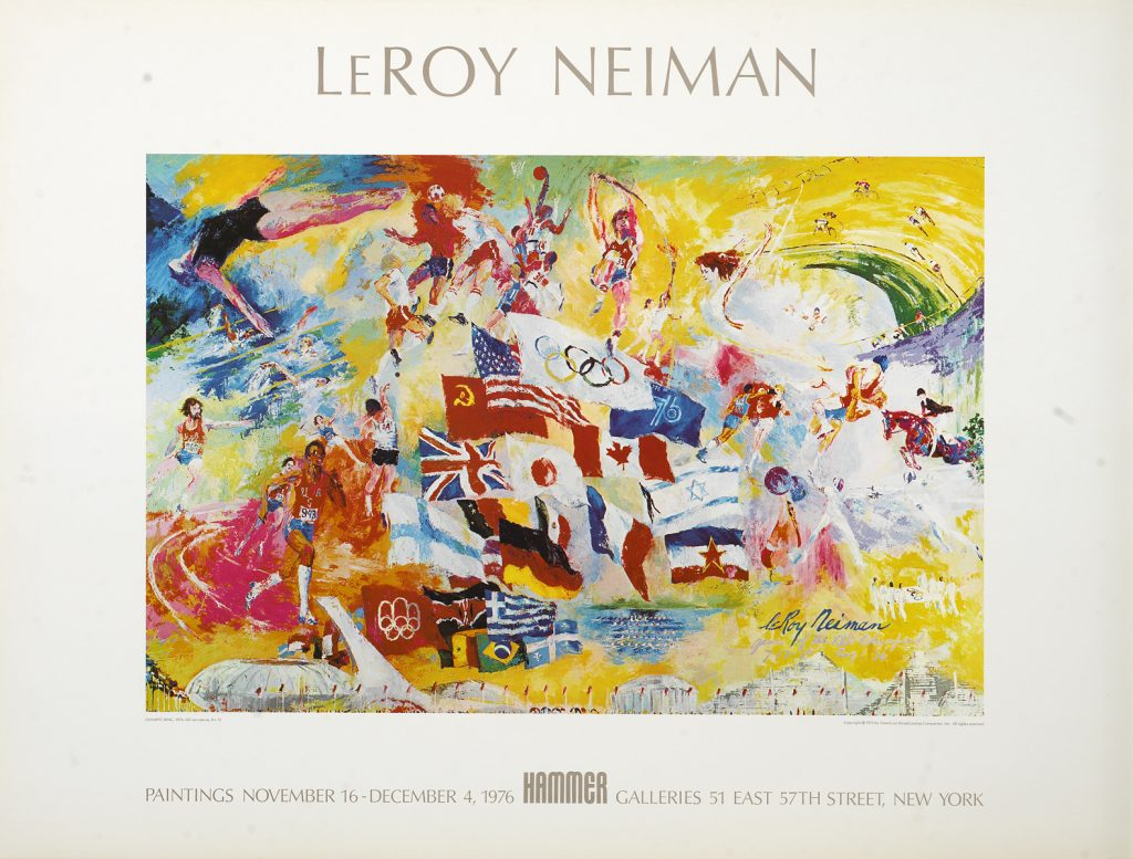Park West Gallery Olympic Ring LeRoy Neiman