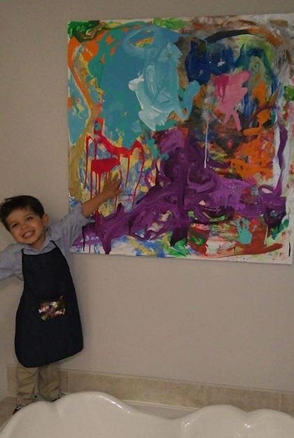 Romeo Blackman, child artist