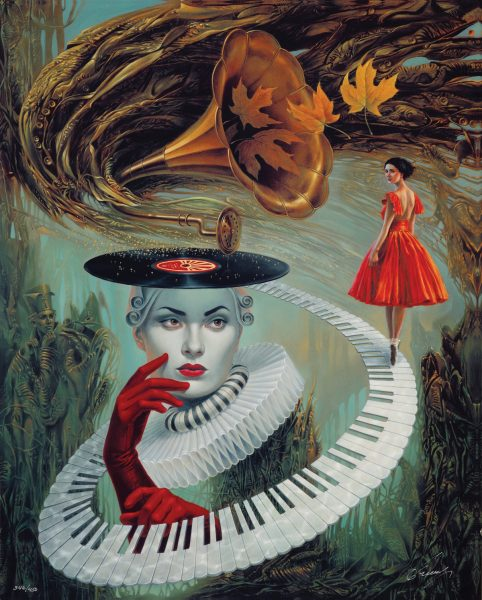 Sounding Silence Michael Cheval Park West Gallery