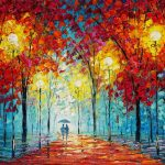 Park West Gallery Autumn Woods Slava Ilyayev