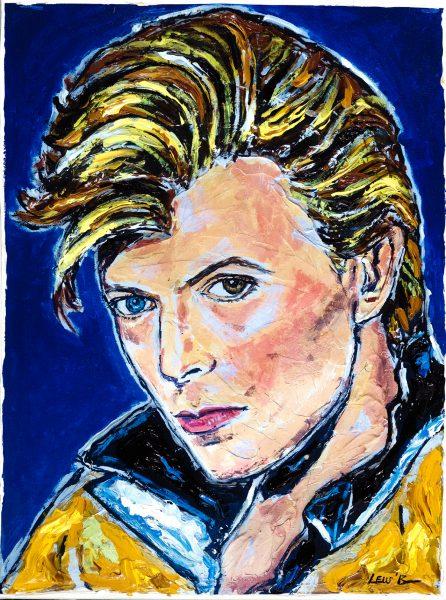 Park West Gallery art news Leslie Lew David Bowie