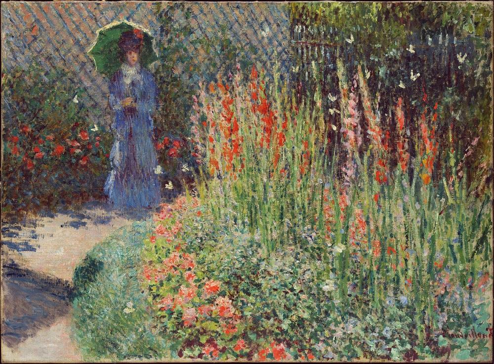 Merveilleux U201cRounded Flower Bed (Corbeille De Fleurs)u201d (1876), Claude Monet. U201c