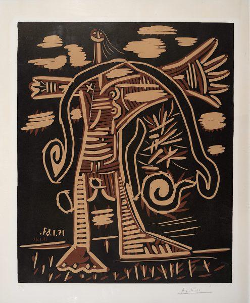 Femme nue debout 1963 Pablo Picasso