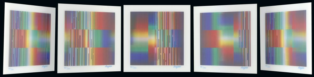 Perfect Disorder Yaacov Agam Park West Gallery