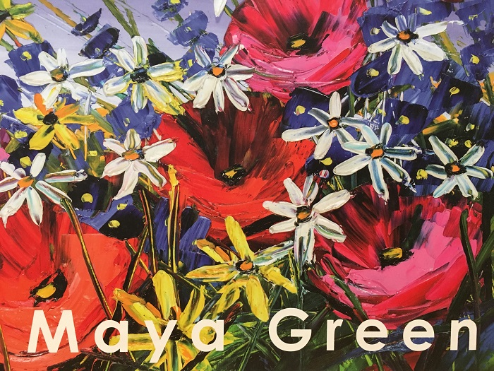 """Maya Green"" by artist Maya Green, Park West Gallery art book"