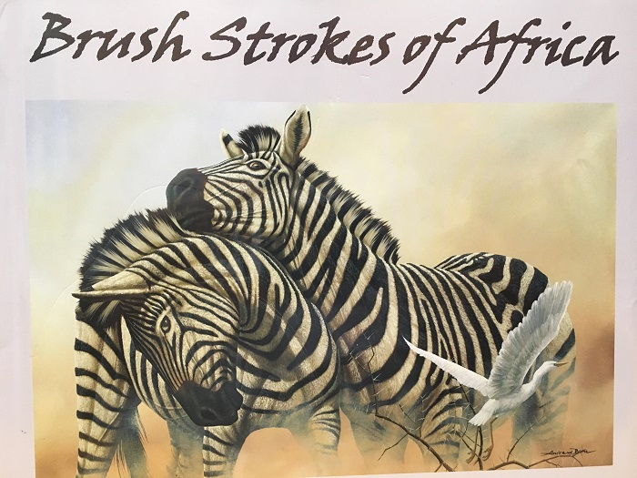 """""""Brush Strokes of Africa"""" by Andrew Bone, Park West Gallery art book"""