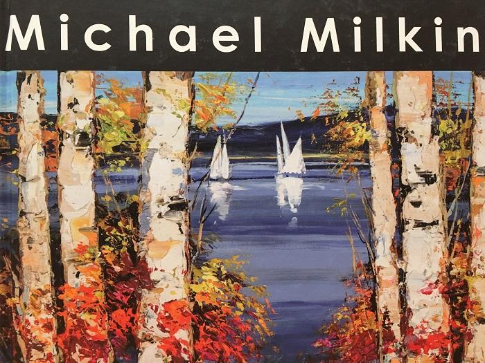 """""""Michael Milkin"""" by artist Michael Milkin, Park West Gallery art book"""