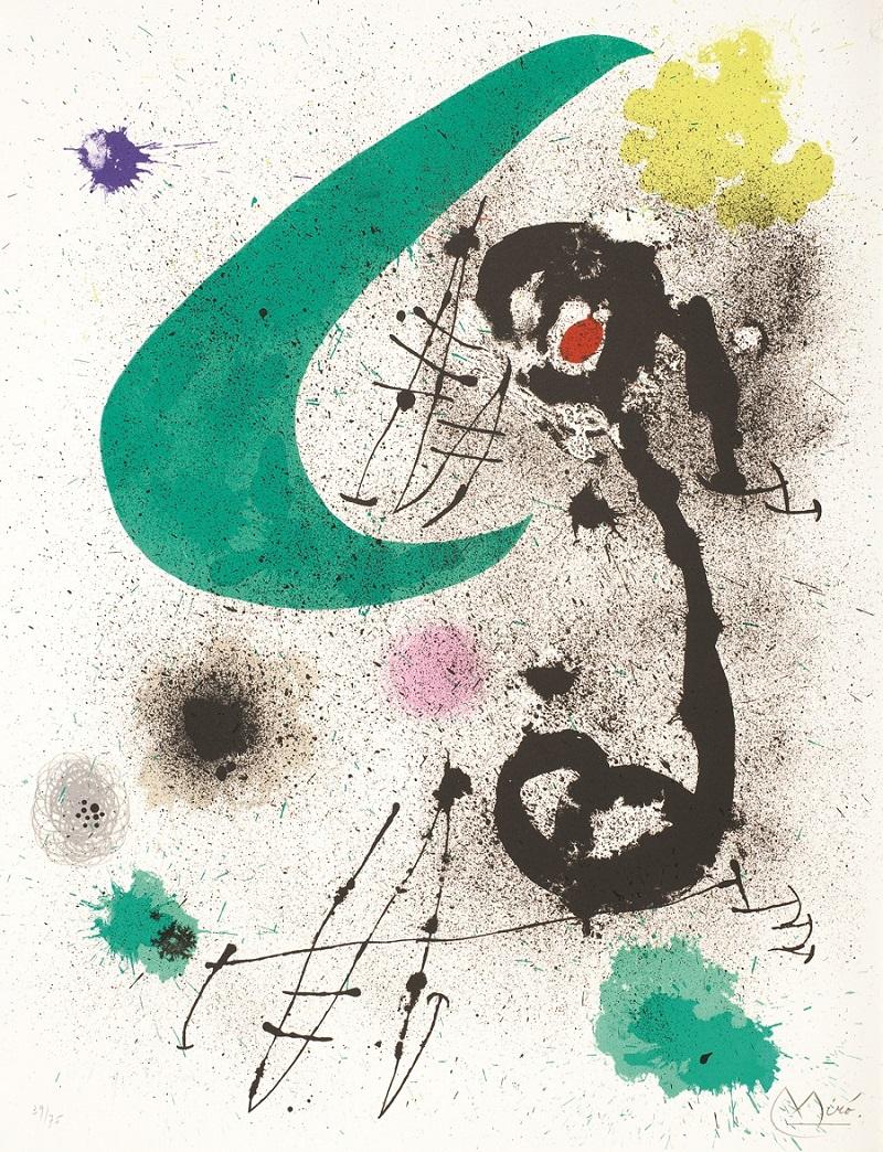 """Migratory Bird I"" (1970), Joan Miró"