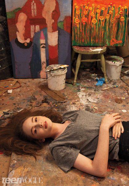 Autumn de Forest Teen Vogue