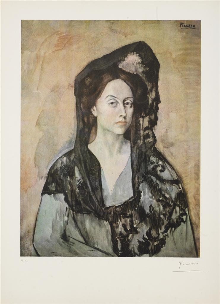 """""""Madame Ricardo Canals"""" (1905), Pablo Picasso, Barcelona Suite"""