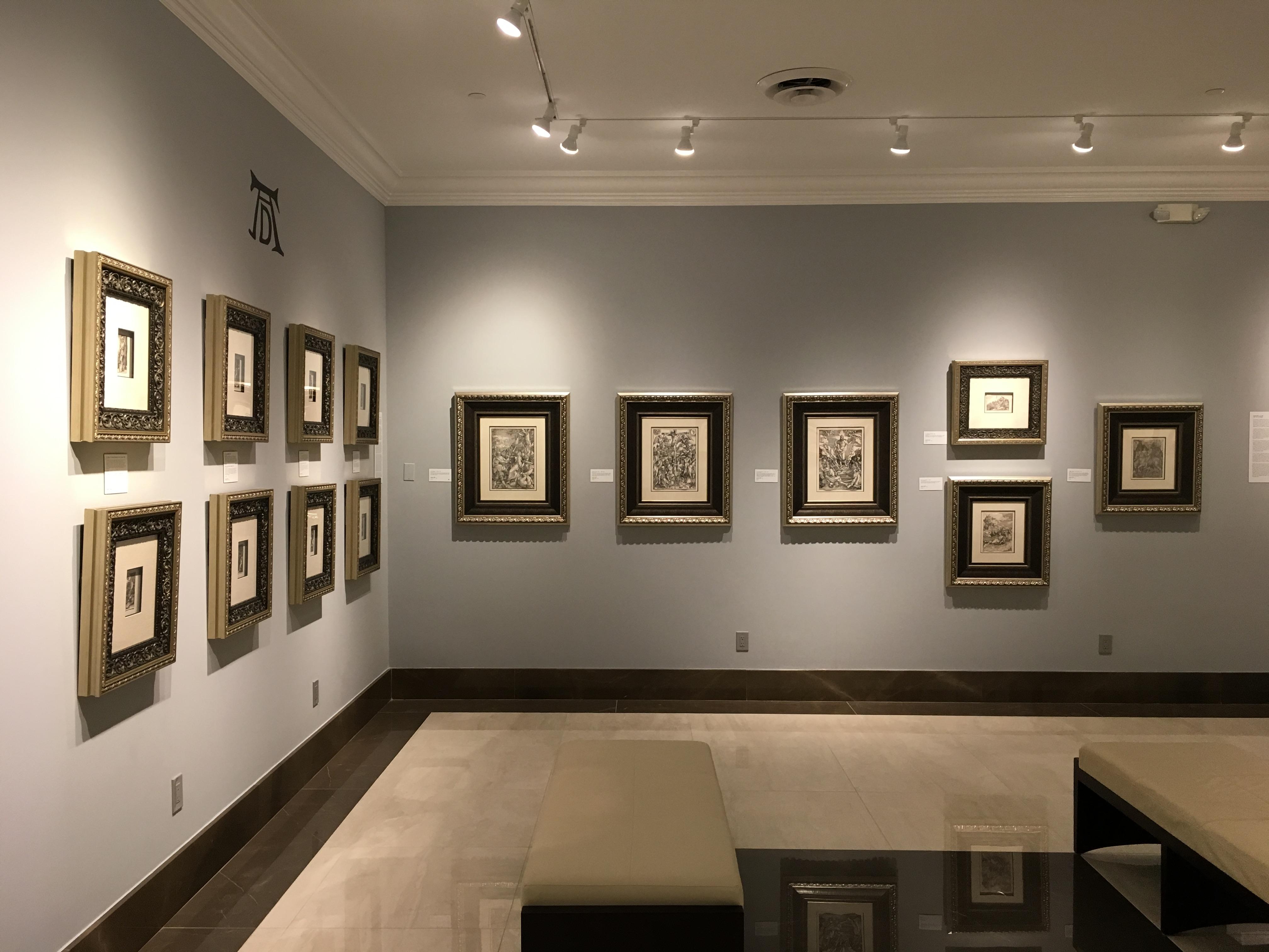 The Albrecht Dürer gallery at Park West Museum.