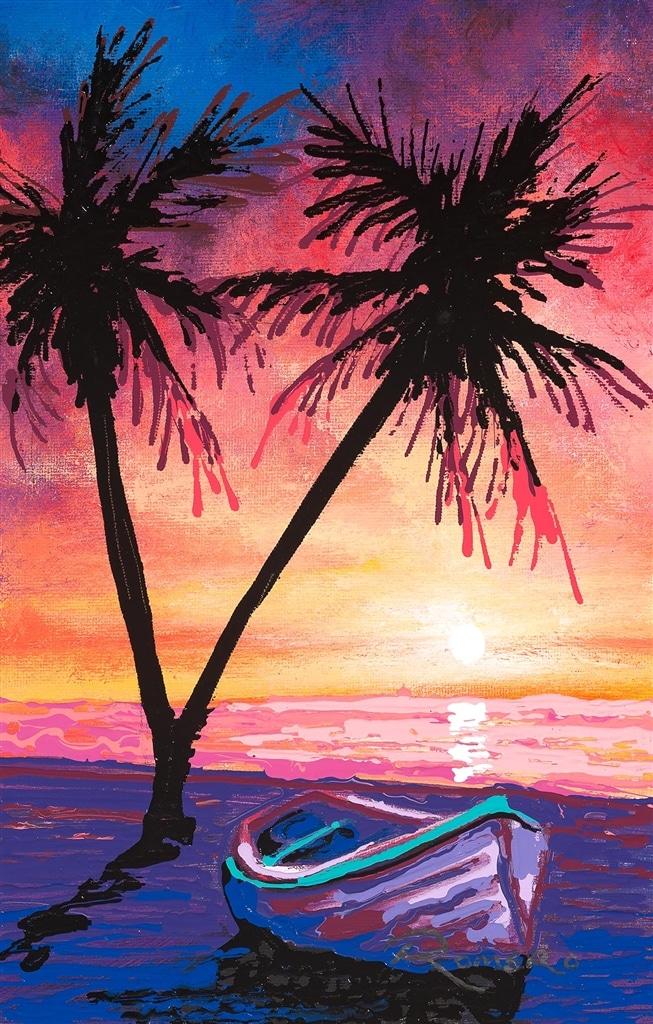 """Discovered Paradise"" (2018), Michael Romero"
