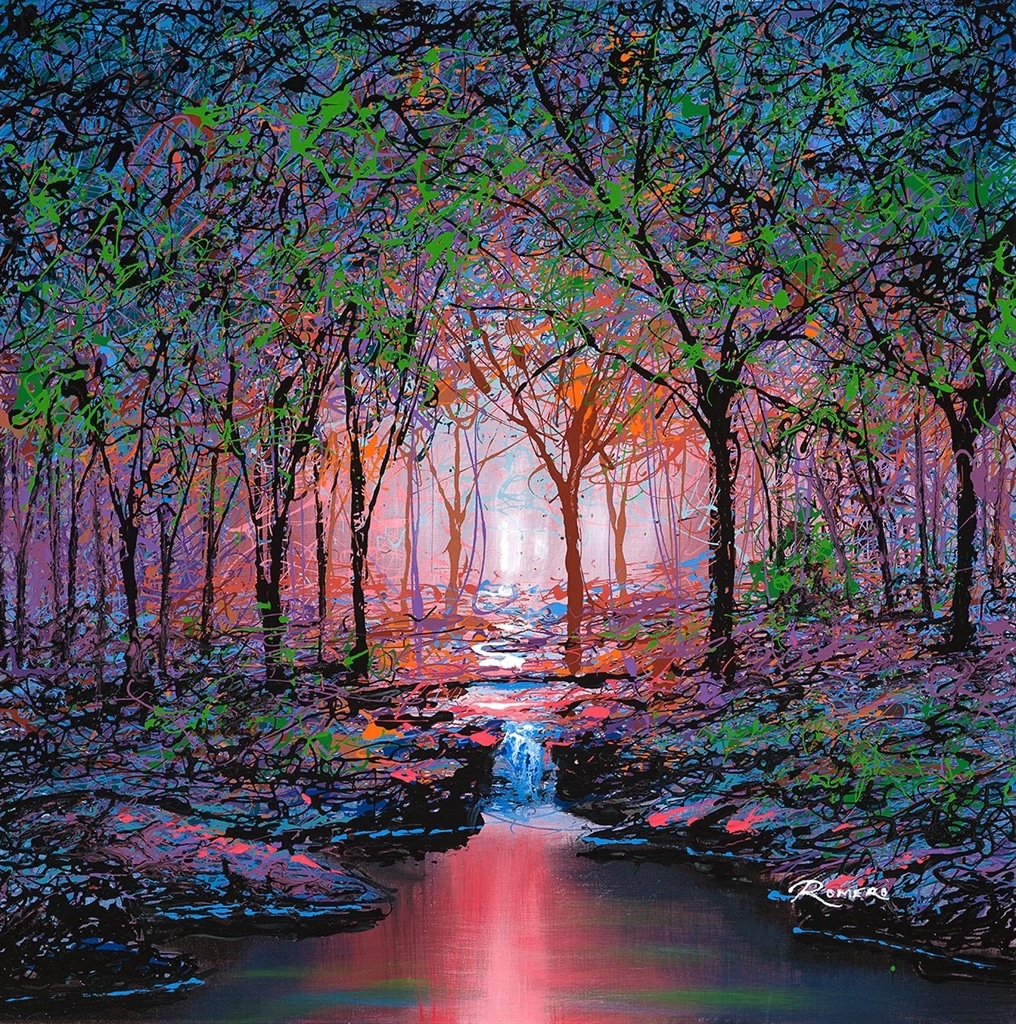 """""""Trees and Water Red Loll"""" (2019), Michael Romero"""