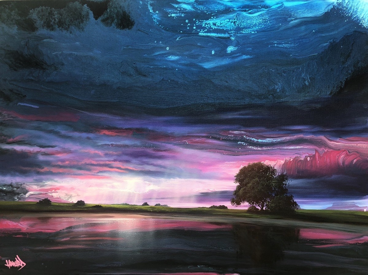 """Sunlit Rain,"" Ashton Howard"