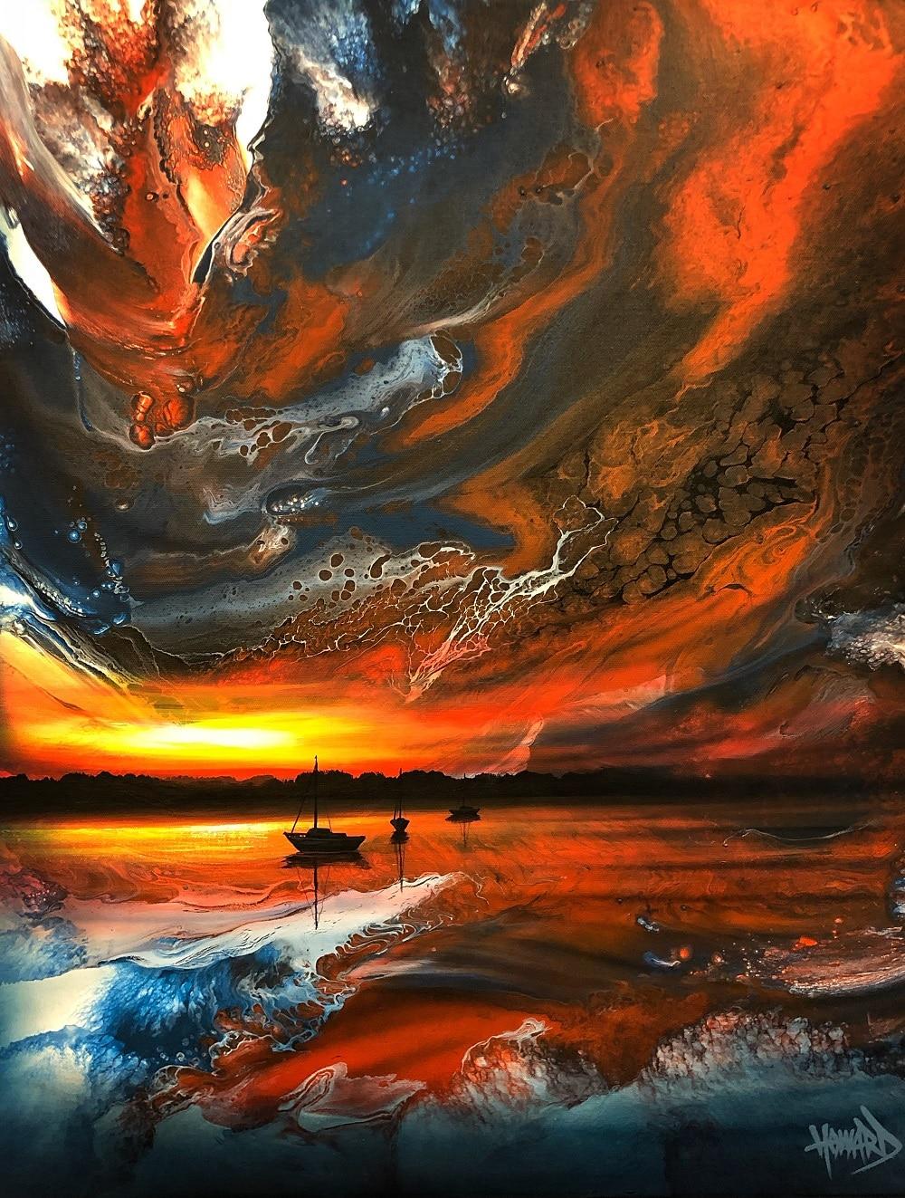 """""""Sundown Sails,"""" Ashton Howard"""