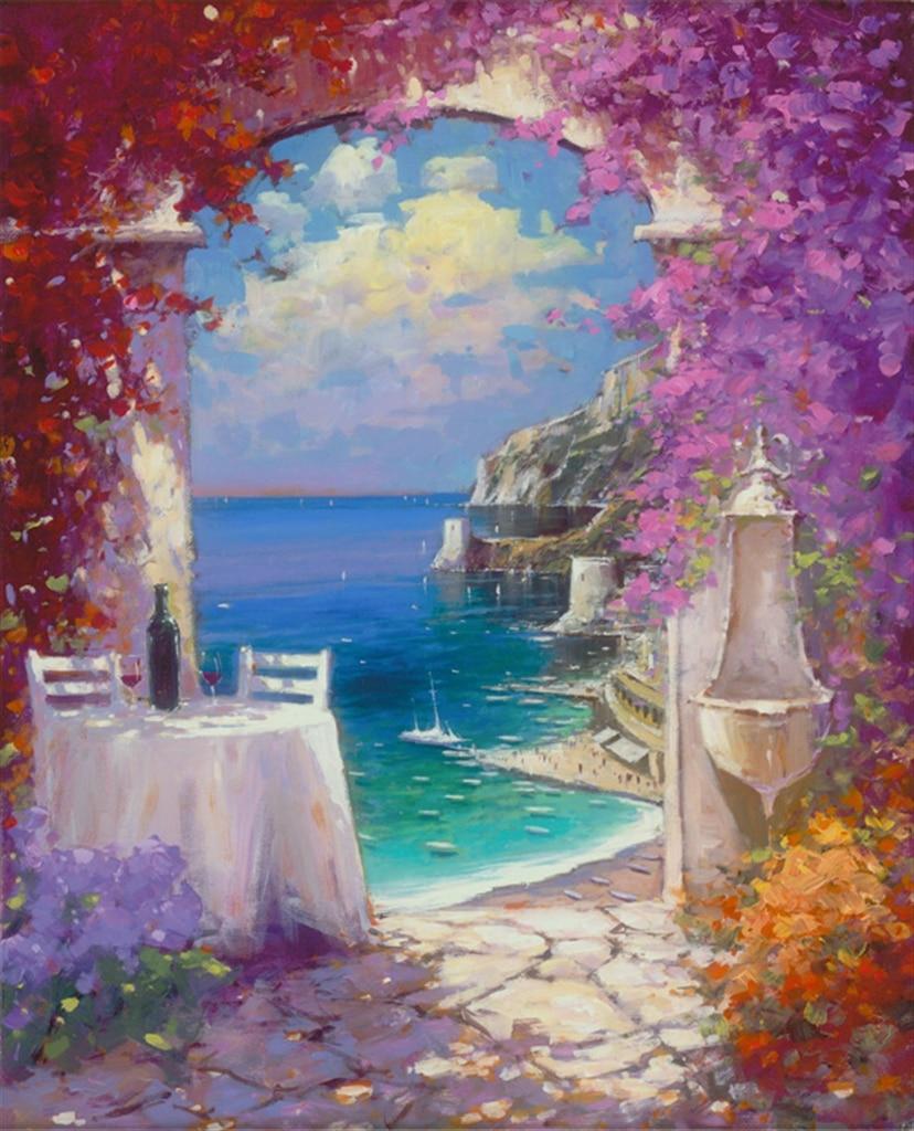 """""""Down the Amalfi Coast,"""" Marko Mavrovich"""