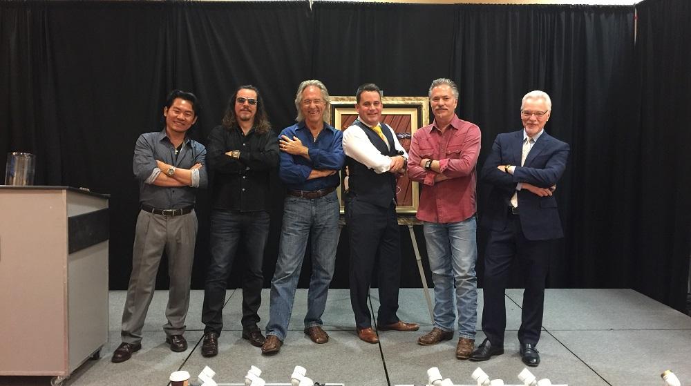 (Left to Right) Daniel Wall, Patrick Guyton, Gary Puckett, Jason Betteridge, Scott Jacobs, Morris Shapiro