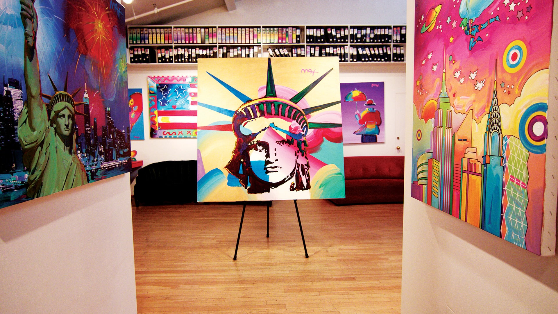The Surrealistic Art of Peter Max: How His Style Made Him an Art Icon