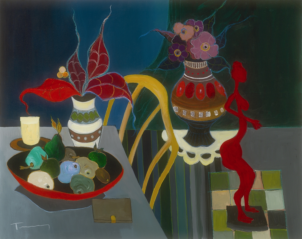 """Beautiful Arrangements"" (2007), Itzchak Tarkay"