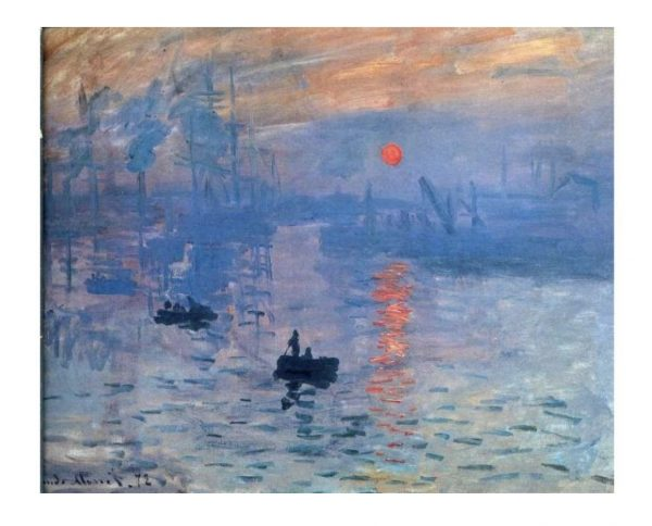 Claude Monet Impression Sunrise