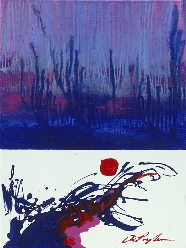 """At Nightfall"" (2017), Dominic Pangborn"