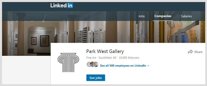 Park West Gallery Careers Park West Gallery