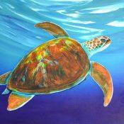 """""""A Sea of Turtles"""" (2011), Wyland, Wyland art"""