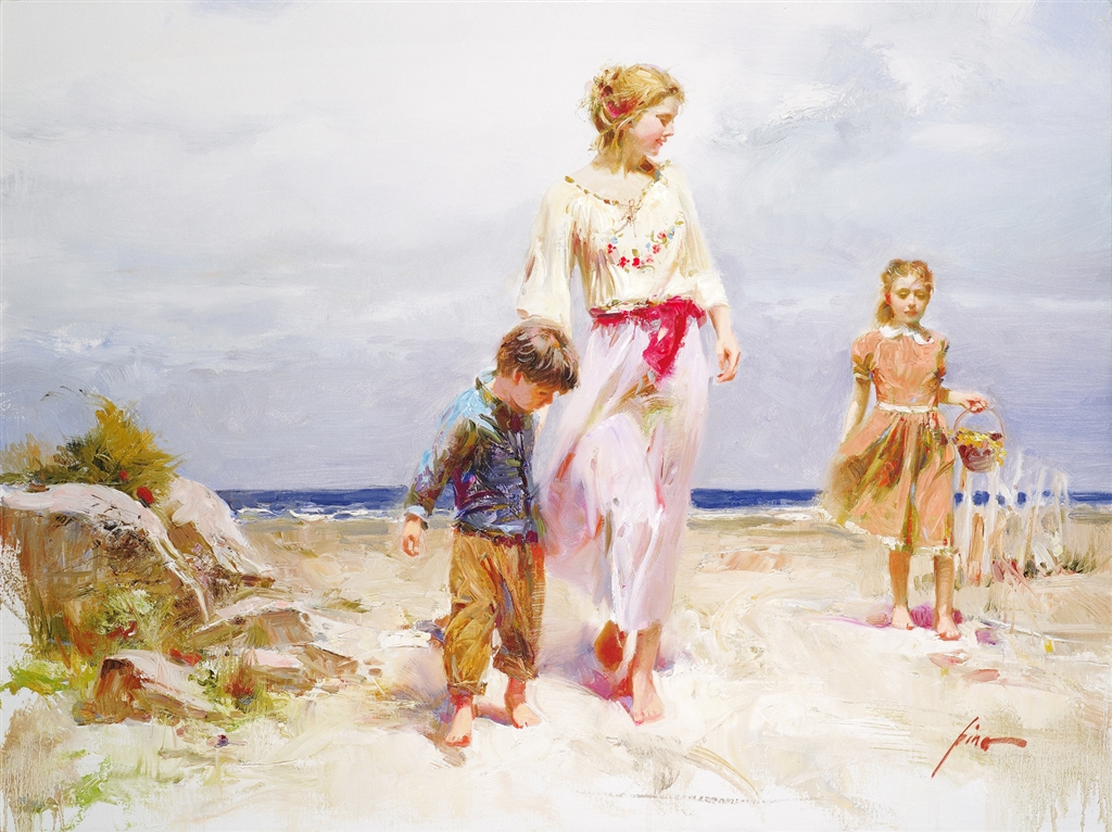 """""""Treasured Moments"""" (2009), Pino, Mother, Mother's Day"""