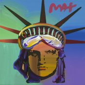Peter Max Statue of Liberty