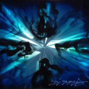 """""""Mini Burst Blue"""" (2015), Chris DeRubeis"""