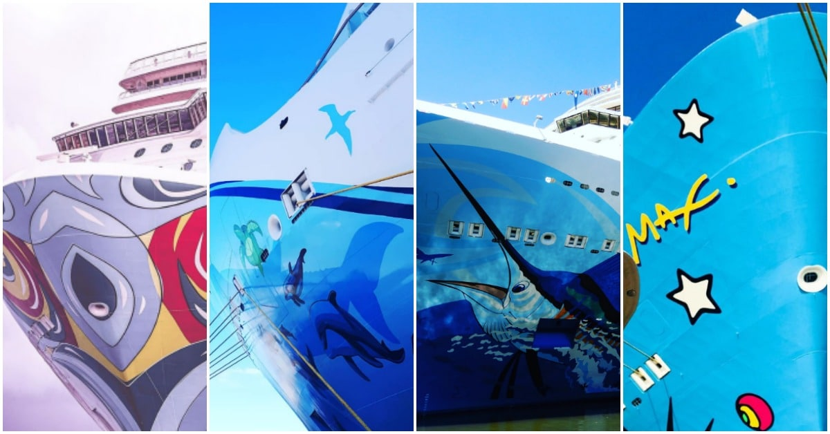 Cruise ship art on Norwegian Cruise Line