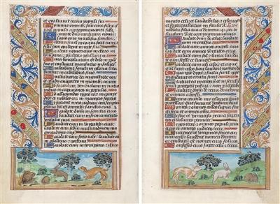 illuminated manuscript park west gallery